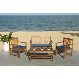 Bellair 4 Piece Seating Group with Cushions