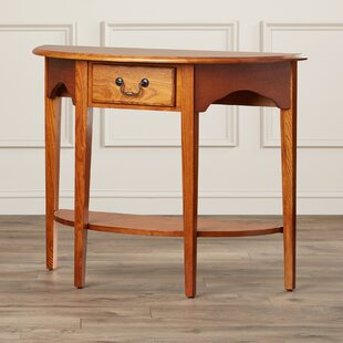 Apple Valley Demilune Console Table