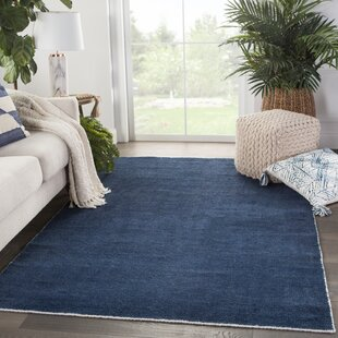 Seren Handwoven Flatweave Blue/White Indoor/Outdoor Area Rug