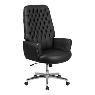 Darby Home Co Stefania High Back Traditional Executive Swivel Office Chair