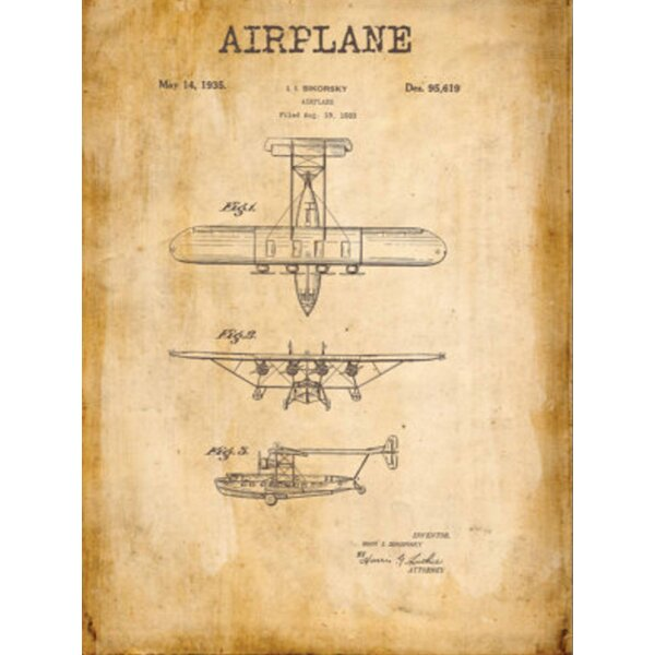 Merax Airplane Wall Art | Wayfair