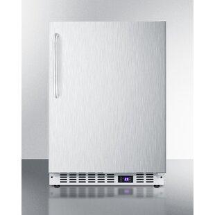 Summit Built-In 4.72 Cu.ft. Frost-Free Upright Freezer by Summit Appliance Modern