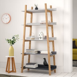 Review Reyes 180cm 5 Tier Bookcase
