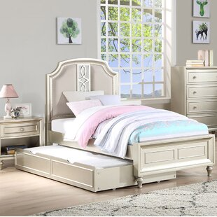 Comparison Anette Panel Bed with Trundel ByWilla Arlo Interiors