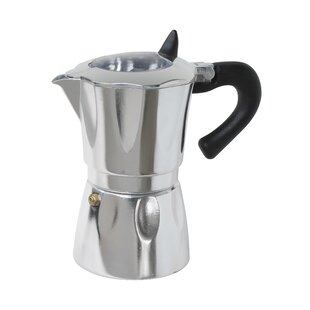 Aluminum Vista Espresso Coffeemakers with Window