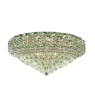 Rosdorf Park Antione 10-Light Flush Mount