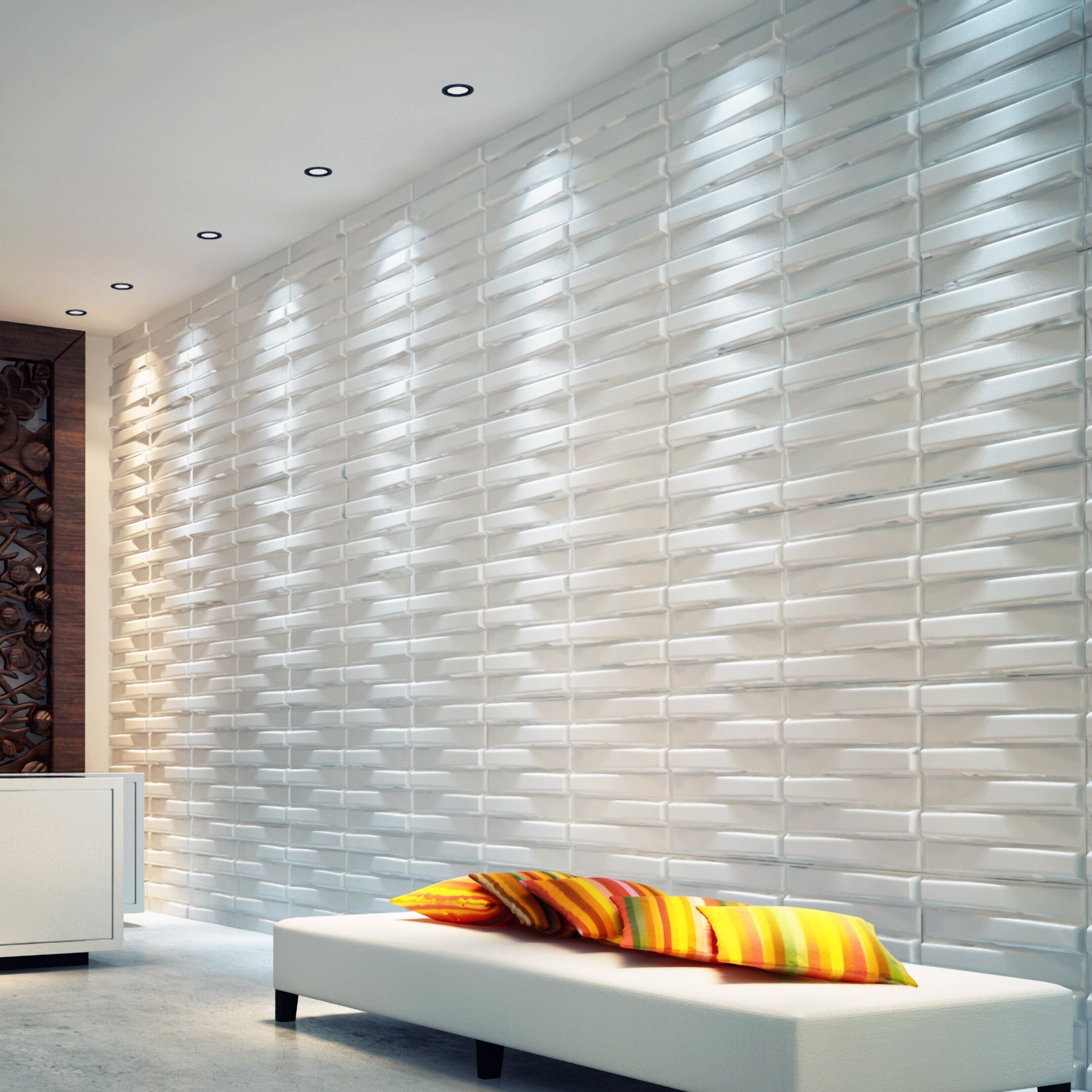 Orren Ellis Methuen 19 7 X 19 7 Wall Paneling Wayfair
