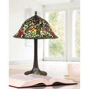 Fiorentino Garden Rose 23 Table Lamp