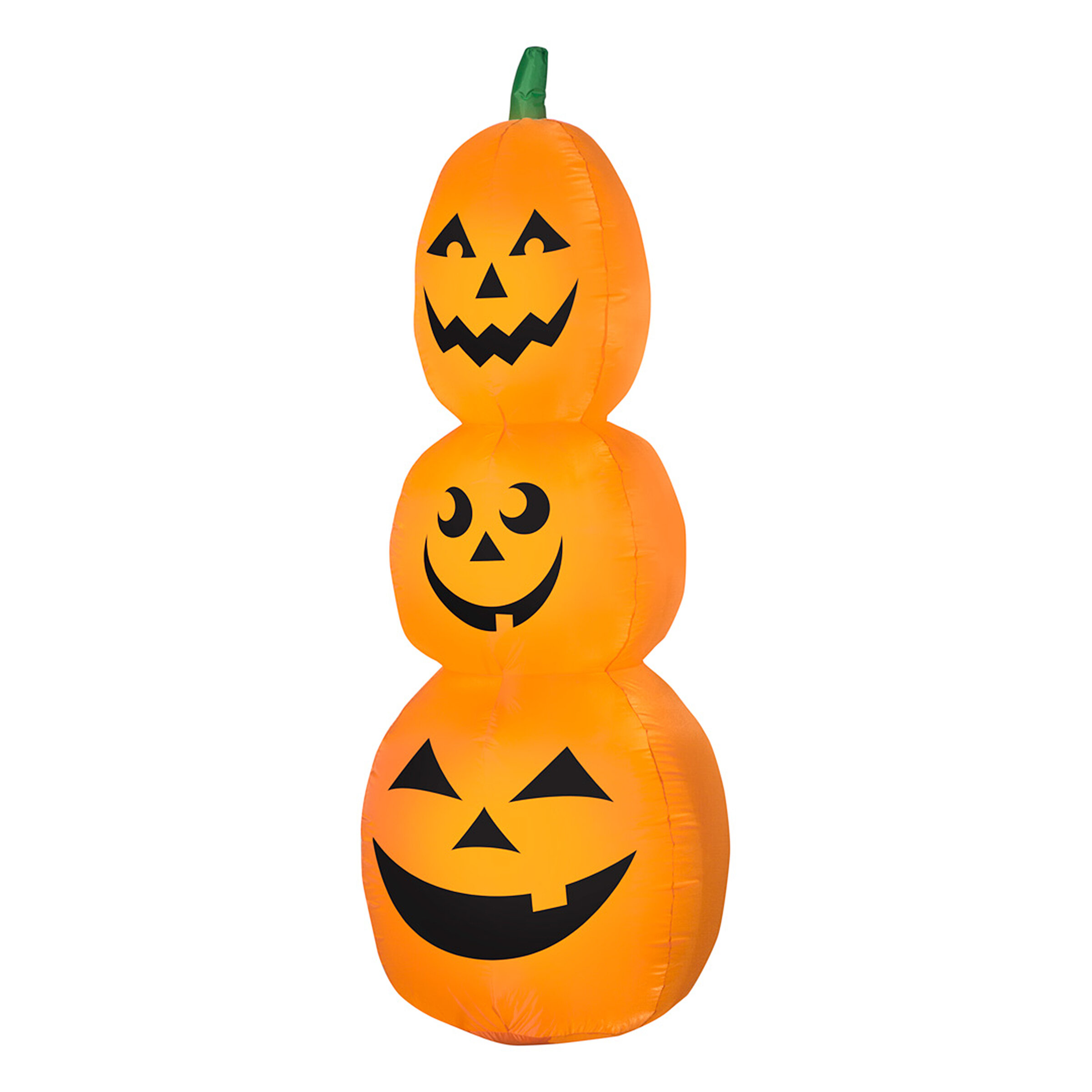 Bloomsbury Market Gemmy Stacked Pumpkins Inflatable Wayfair