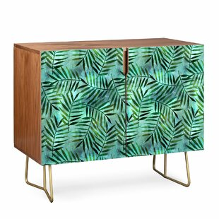 Schatzi Brown Goddess Palm Emerald Sideboard by East Urban Home