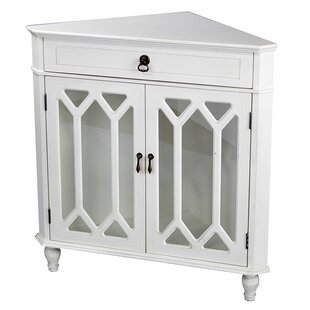 One Allium Way Carly 1 Drawer 2 Door Accent Cabinet