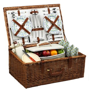 Dorset Basket for Four in Gazebo