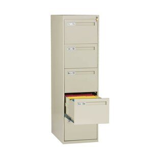 Tennsco Corp. 5 Drawer Vertical Filing Ca..