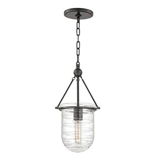 Latitude Run Carn 1-Light Urn Pendant