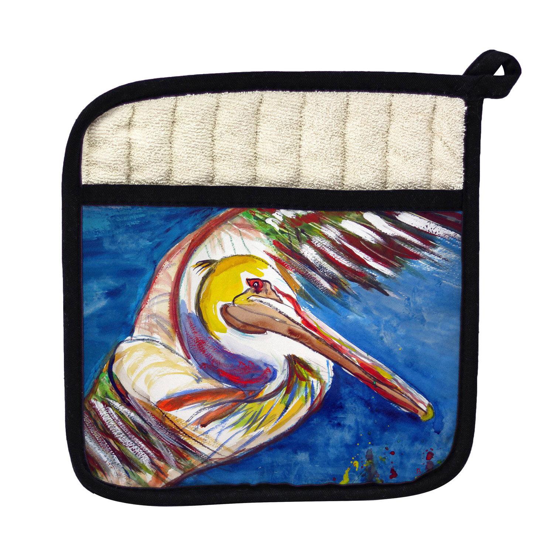 Betsy Drake Interiors Pelican Wing Potholder Wayfair
