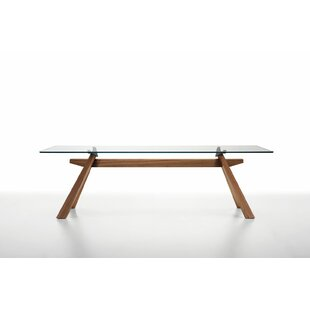 Zeus LG Dining Table with Glass Top