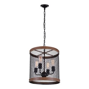 CWI Lighting Torres 4-Light LED Chandelier
