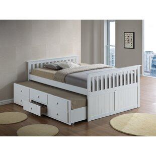 Marco Island Captains Bed with Trundle Bed and Drawers