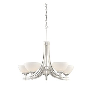 Lembo 5-Light Shaded Chandelier by Latitude Run