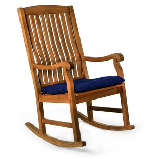 Espinosa Teak Rocking Chair with Cushions