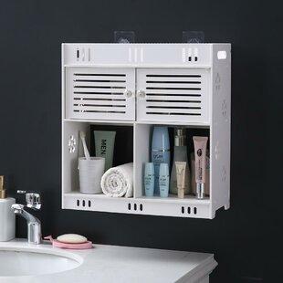 Gratiana 709 W x 1693 H x 1575 D Wall Mounted Bathroom Cabinet