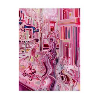 Nerocavallo Chinetti Motors 1965 Print On Canvas Wayfair