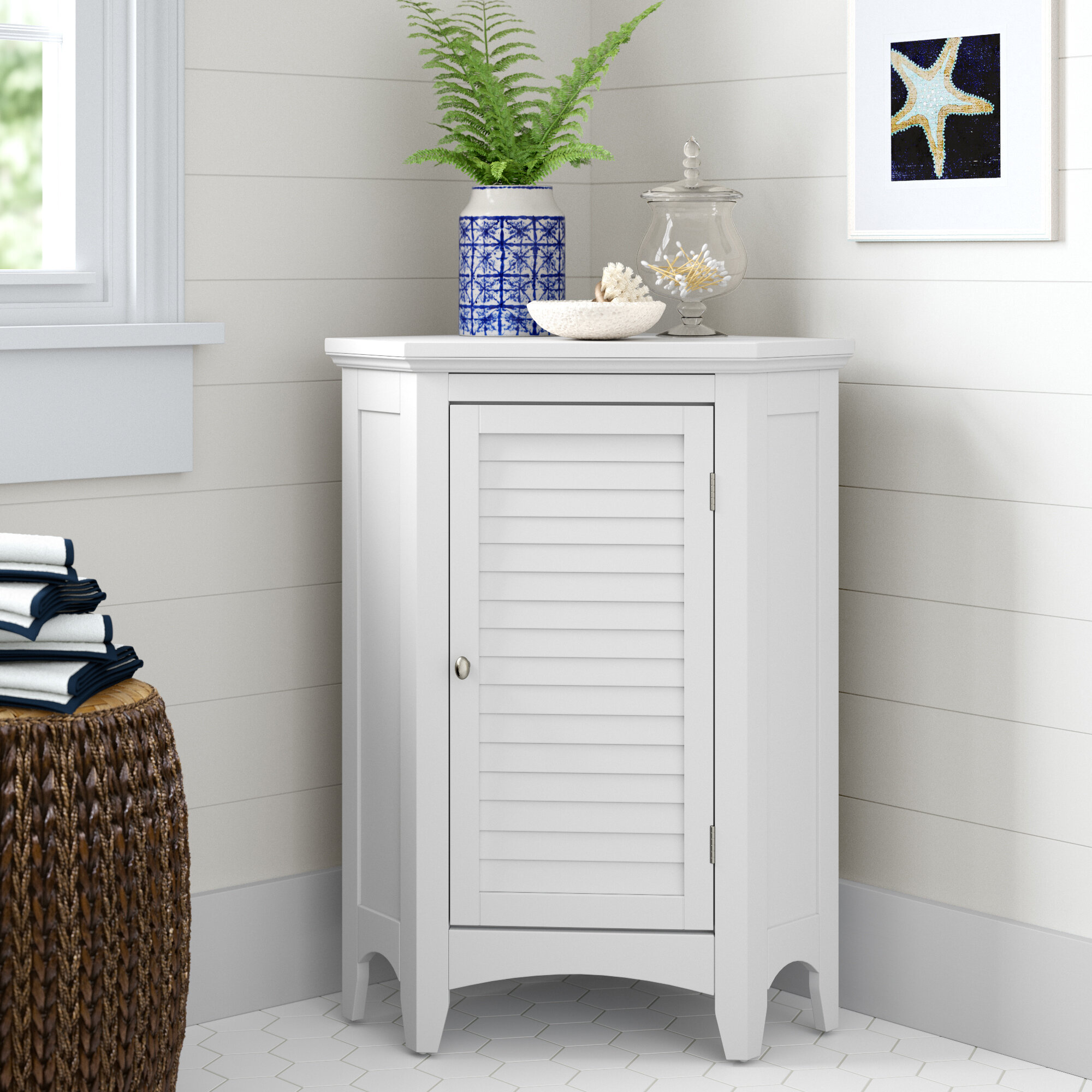 Coastal Farmhouse Billy 24 75 W X 32 H X 17 D Free Standing Bathroom Cabinet Reviews Wayfair