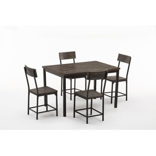 Bushman 5 Piece Dining Set Williston Forge