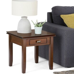 Big Save Artisan End Table with Storage By Simpli Home