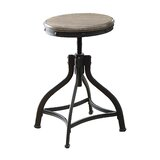 Millner Adjustable Height Swivel Bar Stool by Williston Forge