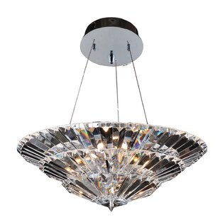 Allegri by Kalco Lighting Auletta 10-Light Crystal Chandelier