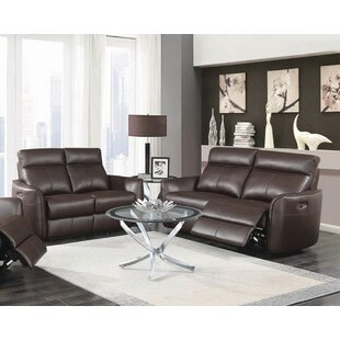 Tremblay 2 Piece Reclining Living Room Se..