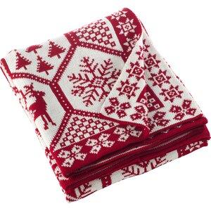 Sevan Christmas Knitted Throw