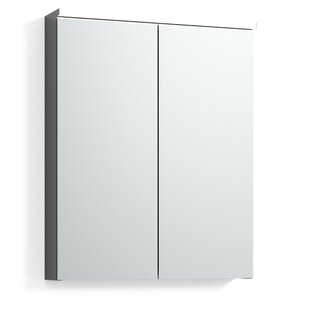 Flack 55 X 69cm Mirrored Wall Mounted Cabinet By Belfry Bathroom