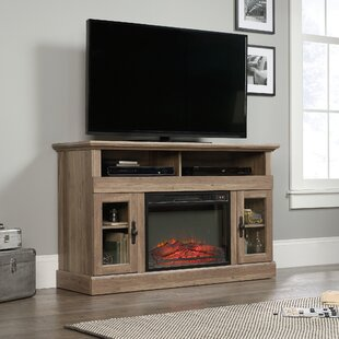 Brie TV Stand for TVs up to 60 with Electric Fireplace by Alcott Hill