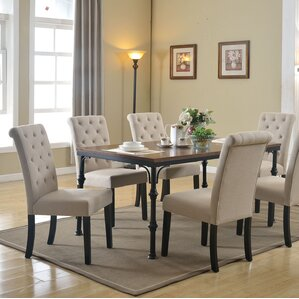Tyerell 7 Piece Dining Set by Gracie Oaks