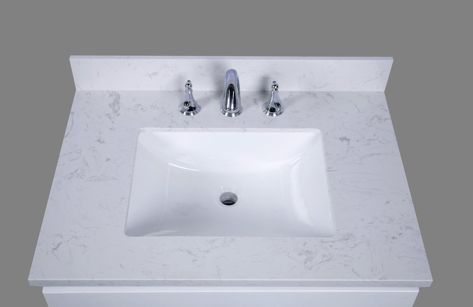 Miraculous Bari 31 Single Bathroom Vanity Top Download Free Architecture Designs Grimeyleaguecom