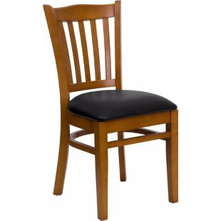 Duprey Solid Woood Side Chair by Charlton..
