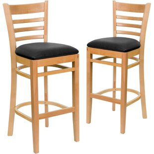 Affordable Loughran 31 Bar Stool (Set of 2) by Red Barrel Studio Reviews (2019) & Buyer's Guide