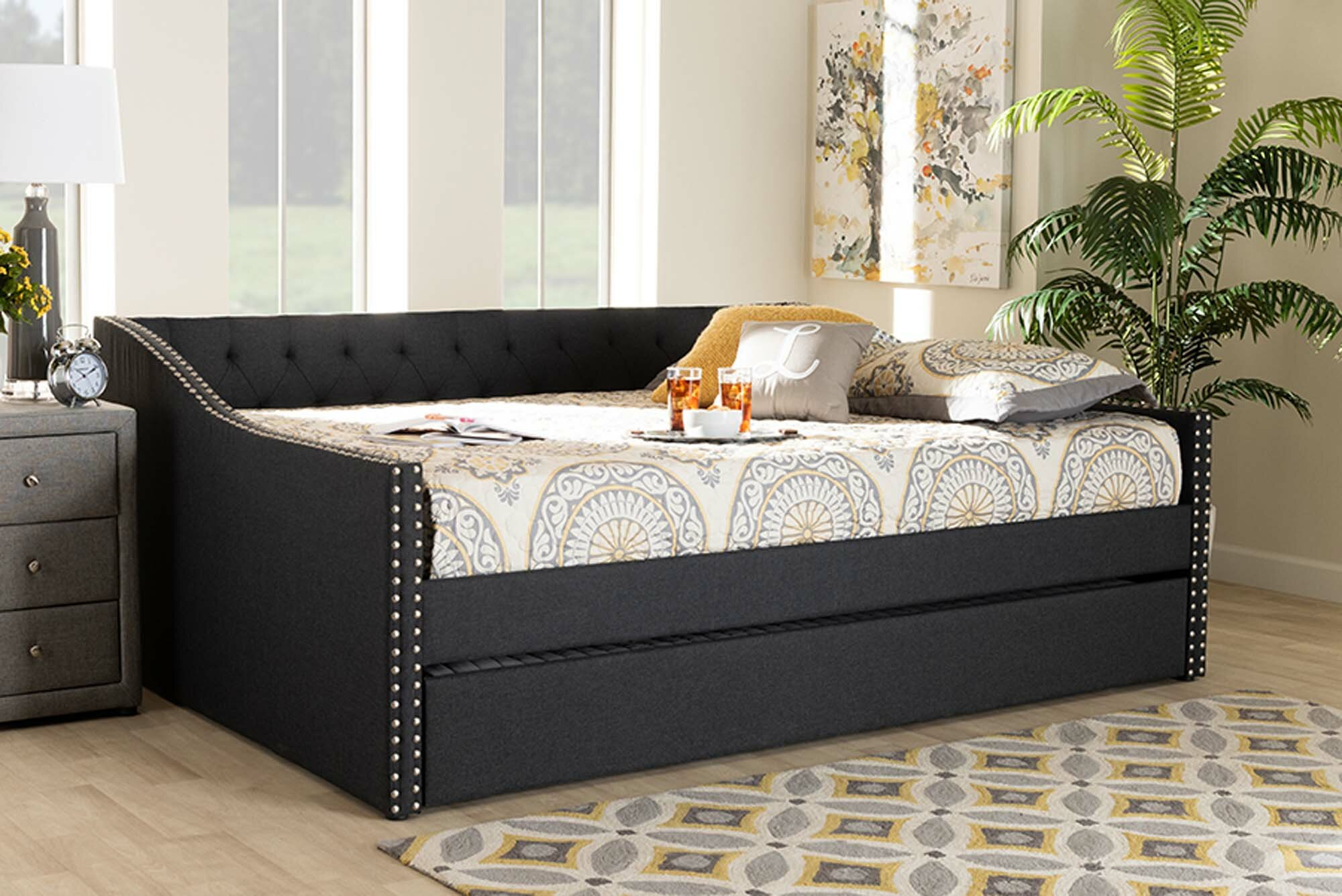 Red Barrel Studio Redus Daybed With Trundle Wayfair