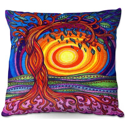 Couch Tree of Life Square Throw Pillow
