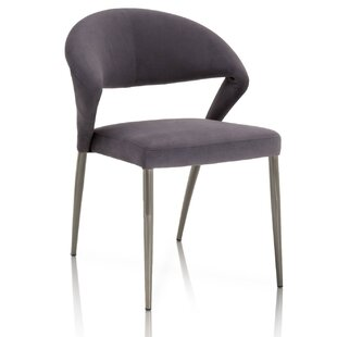 Enya Curved Upholstered Dining Chair (Set of 2)