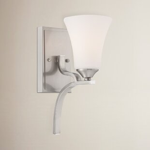 Alcott Hill Oakside 1-Light Bath Sconce