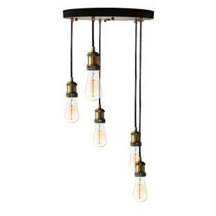 Borel 5-Light Cluster Pendant by Williston Forge