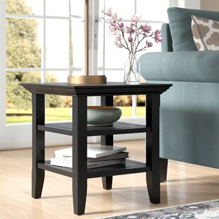 Mayna End Table by Alcott Hill