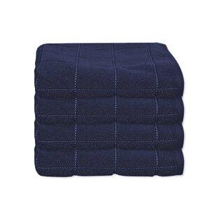 Shutesbury Check 100% Cotton Hand Towel (Set of 4)