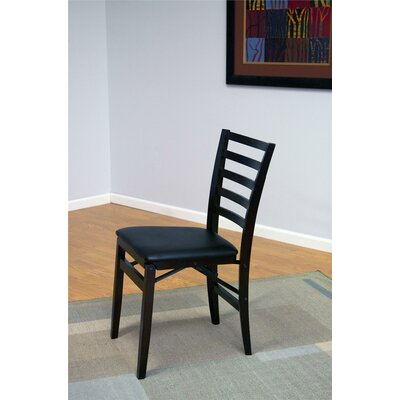 Contoured Back Wood Padded Folding Chair Cosco Home and Office