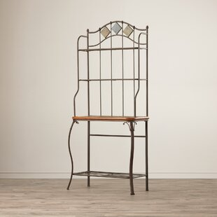 Boyers Steel Baker's Rack by Red Bar..