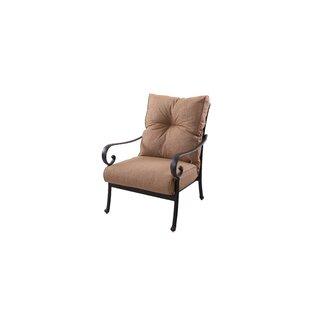Darby Home Co Carlitos Club Chair with Cu..