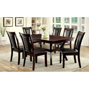Wilburton 7 Piece Extendable Dining Set b..